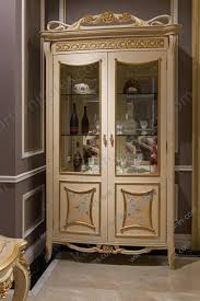 Living Room Cabinet Oval Curio Cabinet 4 Doors Living Room Cabinets With 3 Glass