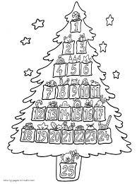 printable christmas tree coloring pages christmas tree coloring