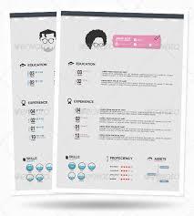 37 stylish resume templates pixelpush design