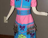items similar to girls native american regalia jingle dress set