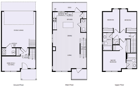 southern springs townhome plan c2