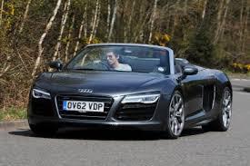 audi v10 convertible audi r8 v10 spyder 2013 review auto express
