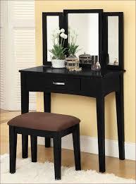 vanity desk with mirror carved white painted oak wood vanity