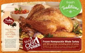 best turkey ham prime rib prices week of november 23