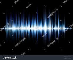 sound wave background suitable backdrop music stock illustration