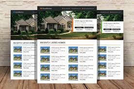 Real Estate Feature Sheet Template Free by Real Estate Flyer Template Flyer Templates Creative Market