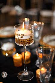 Vases With Floating Candles Floating Candle Decorations For Weddings Candle And Seashell Beach