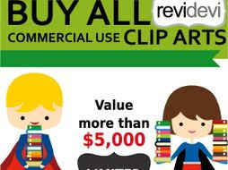 buy clipart commercial use clip buy all clipart big bundle by revidevi