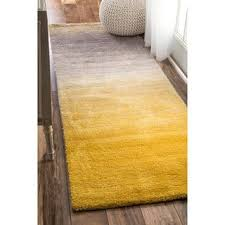 Yellow And Grey Runner Rug Yellow Runner Rugs For Less Overstock