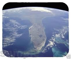 satellite map of florida mouse pad florida satellite map everglades
