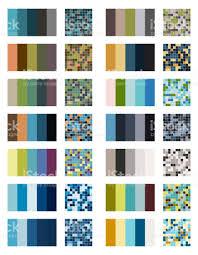 color combos color palette set background harmony color combos spectrum stock