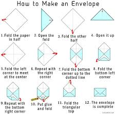 How To Make Envelopes | how to make your own origami envelope from paper cool2bkids