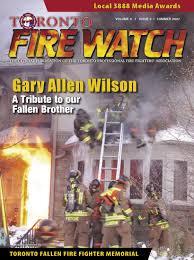 lexus toyota leslie eglinton fire watch summer 2007 by toronto professional fire fighters