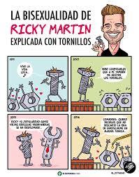 Ricky Martin Meme - 4 imágenes que explican la bisexualidad de ricky martin