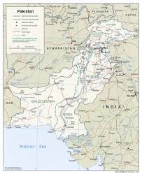 Pakistan On The Map Pakistan Maps Perry Castañeda Map Collection Ut Library Online