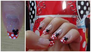 uñas disney de mickey mouse nail art youtube