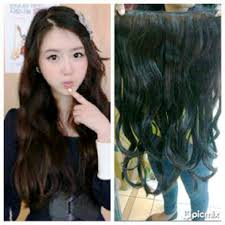 hair clip rambut jual hair clip human hair curly indian remy hair