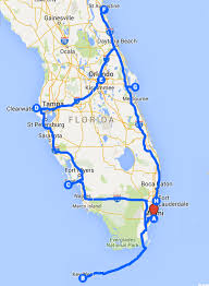 Florida Map Orlando by Uncover The Perfect Florida Road Trip