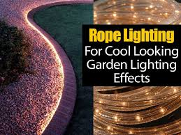 how to install garden lights how to use lighting for a cool looking effect