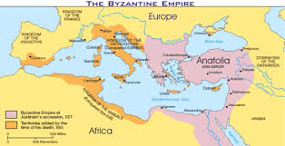 Rome On World Map Byzantium And Rome By Ethan Campbell