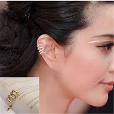 earrings for pierced ears cheap pierced ear cuff earrings find pierced ear cuff earrings
