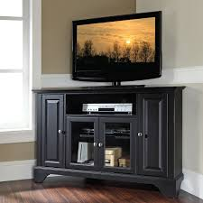 Black Corner Tv Cabinet With Doors Tv Stands Incredible Stand For Inch Flat Screen Design 2017