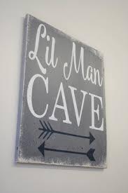 Wall Decor For Boy Nursery Cave Wood Sign Nursery Decor Boys Nursery