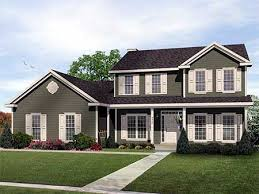 traditional two story house plans plan 2289sl two story traditional home plan design story house