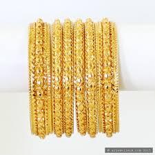gold hand bracelet images 22ct indian gold hand made bangle set 8282 82 bangles JPG