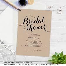 diy bridal shower invitations luxury wedding shower invitations diy ideas wedding invitation