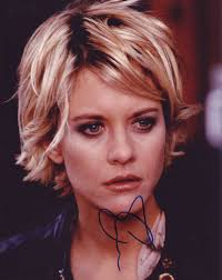 meg ryan in person autographed photo
