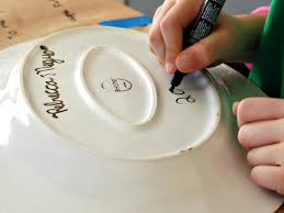 painted platter painted s day grill platter hgtv