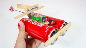 how to make a toy boat mini for kids coca cola can boats craft