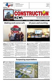 Holden Roofing Houston by Houston Construction News June 2016 By Construction News Ltd Issuu