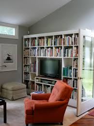 Built In Bookcases With Tv Bookcase With Tv Houzz