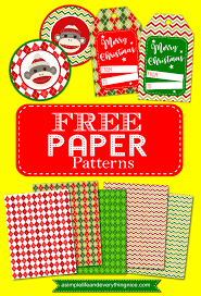 themed paper free christmas and sock monkey themed paper patterns a simple