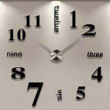 black wall clocks foter