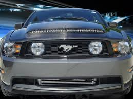 2012 Black Ford Mustang 2010 2012 Ford Mustang Hoods For Gt 5 0 And V6