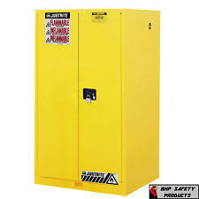 Yellow Flammable Storage Cabinet Flammable Cabinet Ebay