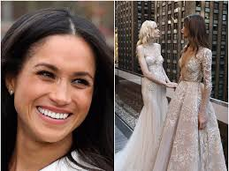 wedding dresses for inbal dror has potential designs for meghan markle s wedding