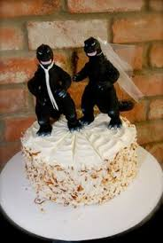godzilla cake topper going to on your wedding day make sure to bring and