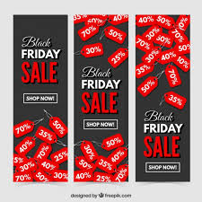 black friday free black friday discount banners i free vector black friday