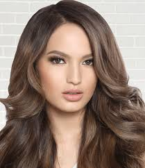 filipina artist with copper brown hair color new ambassadors get fresh hair colors the manila times online