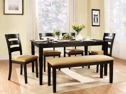 kitchen chairs dining room furniture rustic black stained