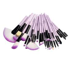 vander purple 32pc professional soft cosmetic eyebrow shadow