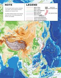 Physical Map Of East Asia by Asia Physical Map U2022 Mapsof Net