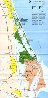 Deland Florida Map by Canaveral National Seashore Map Canaveral National Seashore