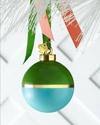 kate spade new york be merry be bright ornament green turquoise