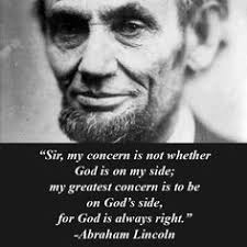 i this quote from president lincoln lifelines