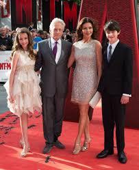 michael douglas catherine zeta jones kids ant man premiere